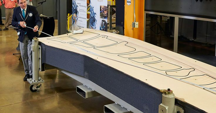 Boeing's new world record-setting, wing-making #3DPrinter [VIDEO] — #3DPrinting