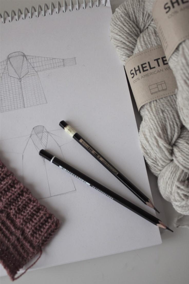 Knitting with Brooklyn Tweed