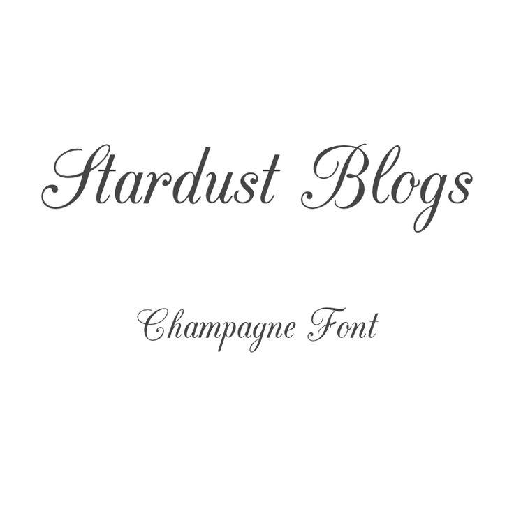 Champagne Font