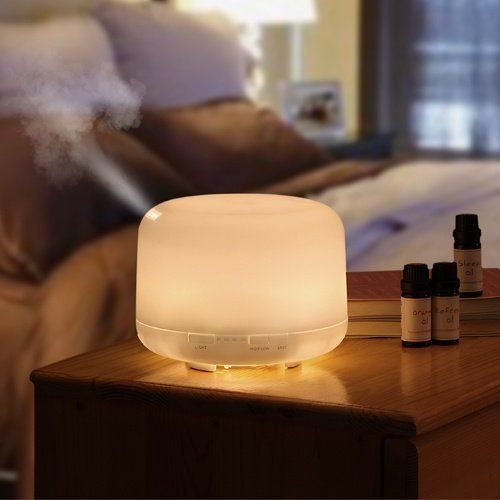 Ultrasonic Humidifier Aroma Diffuser | Apartment Therapy