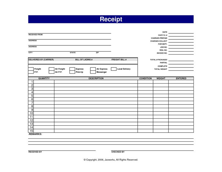 Best 25+ Free receipt template ideas on Pinterest Receipt - blank invoice template doc