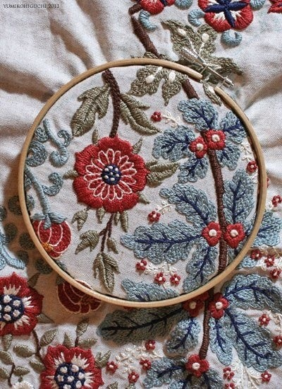 Embroidery. Via MissClaire's FB page