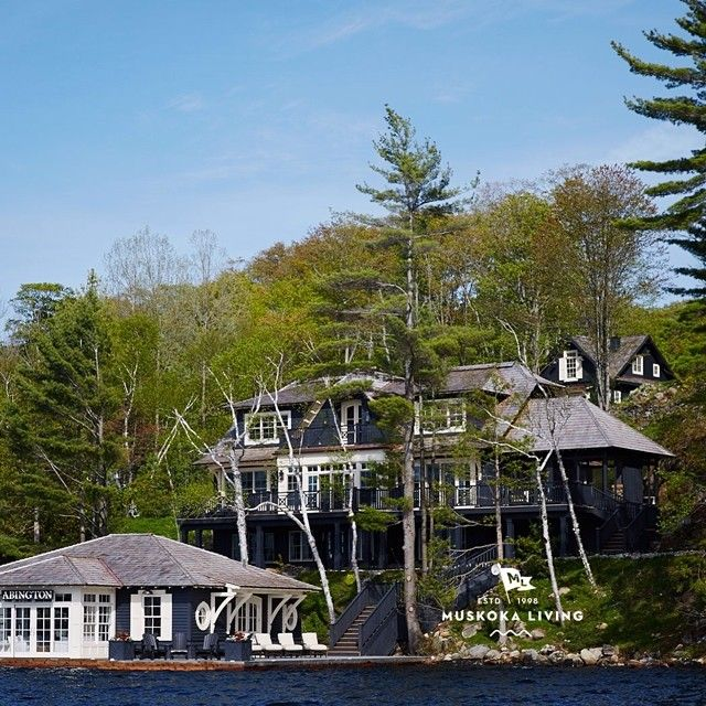 49 best images about boathouses on pinterest ontario for Dream homes ontario