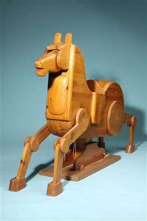 Rocking Horse, Anonymous. Denmark. 1950u0027s.