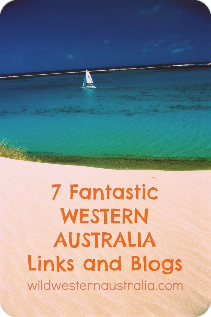 Some great Western Australia websites and blogs to inspire your next holiday!