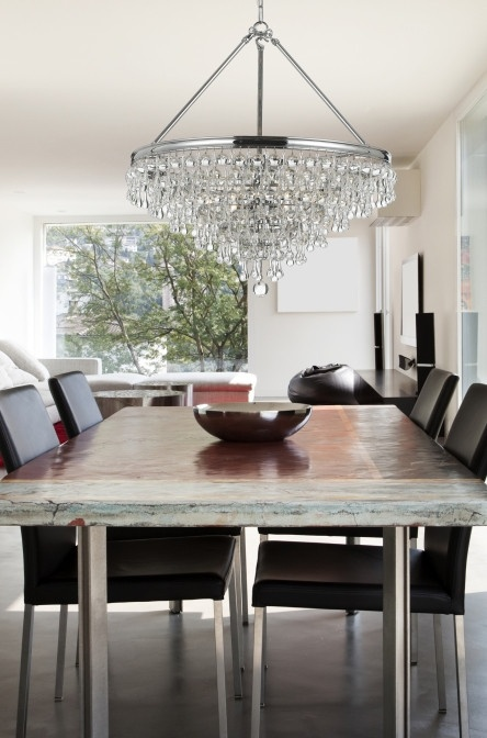 A Dining Room Is Common Place To Hang Chandelier Finish This Sentence