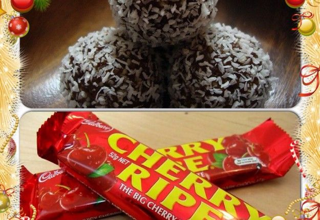 Cherry Ripe balls - Real Recipes from Mums