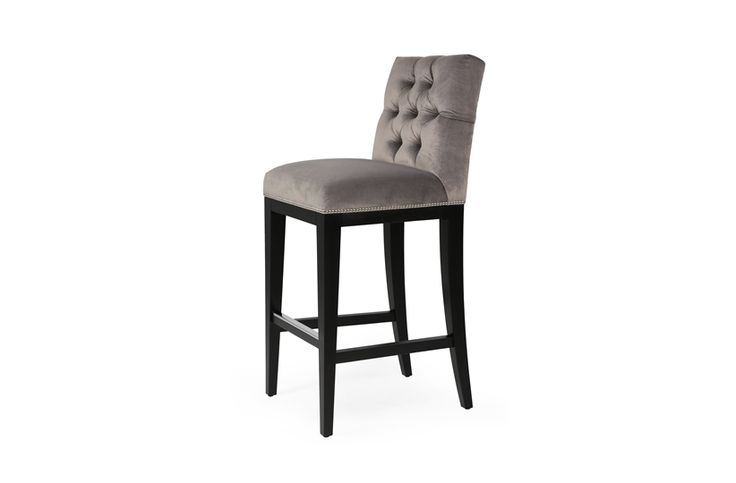 Lucas is one of our most luxurious bar stools; immaculately finished with decorative studding, a polished handle and deep buttoning. This lavish chair is accentuated by an optional bar stool and is versatile enough to be upholstered in a range of fabrics and leathers.