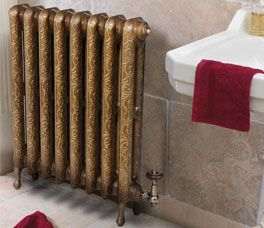 If you are looking for a striking living room, hallway or kitchen radiator this offers that old cast iron radiator look with real style.