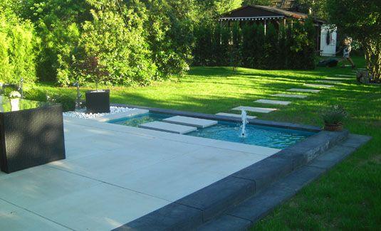 wasserbeckende Garden Pinterest Gärten, Terrasse anlegen - terrassengestaltung mit wasserbecken