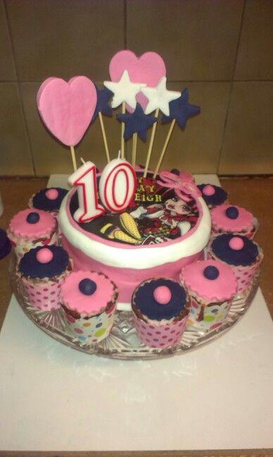 My girls 10th cake i made, June 2014