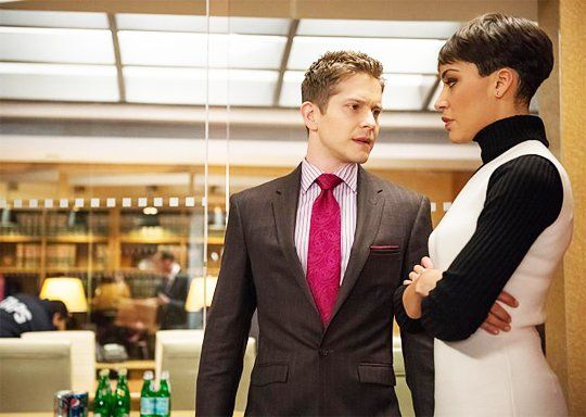 Matt Czuchry and Cush Jumbo in The Good Wife (2009)