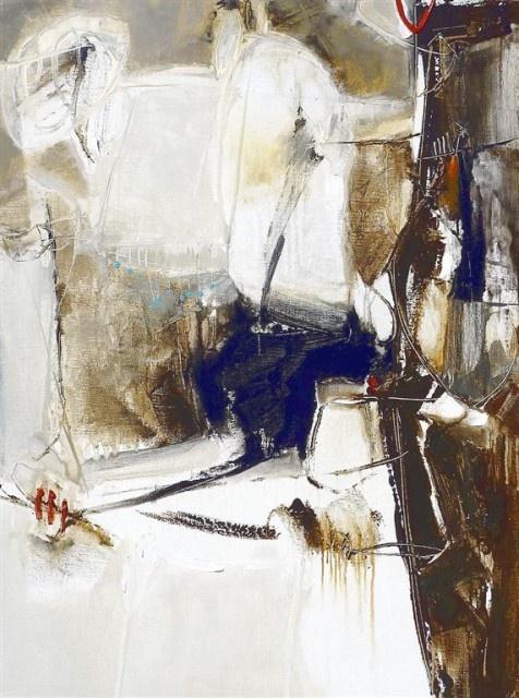 Rob Forlani,    Title: Mocha Rumba  Medium oil on linen  Size: 120 x 90cm