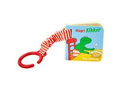 Hap! Kikker | Boekje voor aan de buggy!  Eet je mee met Kikker?  Voor baby's vanaf 6 maanden.