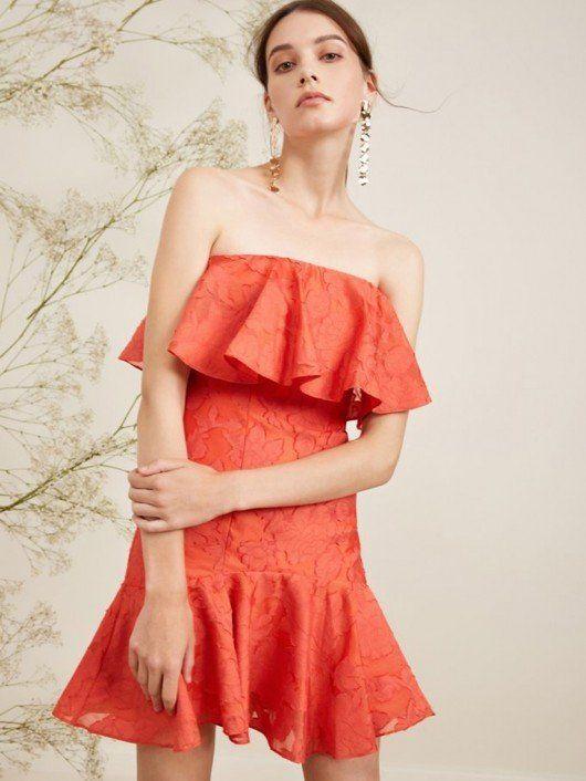 f855cf44acd Keepsake The Label  Radar Mini Dress Pop Red  Dresses