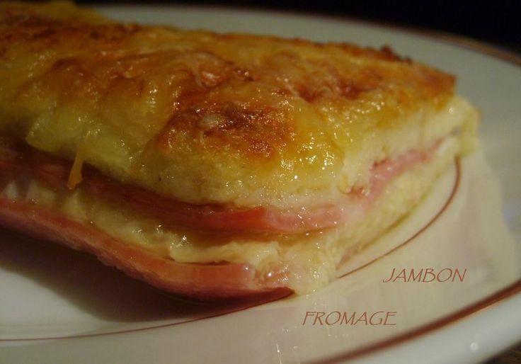 Pain perdu Jambon/Fromage au Four & Tag - Ma cuisine du placard