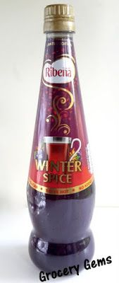 Grocery Gems: Review: Limited Edition Ribena Winter Spice