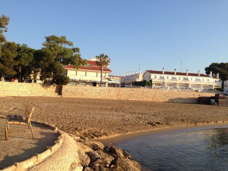 Apartamentos Ornis se encuentran directamente sobre el paseo maritimo peatonal, a tan solo 10mts, de la Playa del Capri, con aguas tranquilas interiores de la Bahia dels Alfacs, playas de fina arena, muy largas y con poco gradiente.