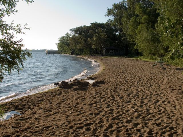 Gull Point State Park, an Iowa State Park located nearby Spencer
