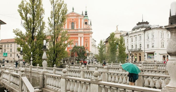 In the Slovenian capital, a car-free center, historic architecture, lots of green space and riverbanks lined with cafes, pubs and boutiques.