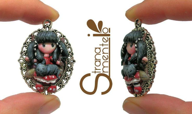 Ispirato by Gorjuss - Polymer Clay -