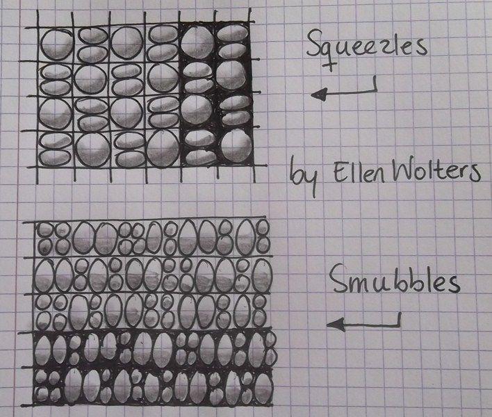 Squeezles & Smubbles by Ellen Wolters Tekenpraktijk De Innerlijke Wereld: 24 new patterns pic posted!