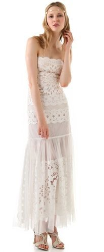 REVEL: Bohemian Wedding Gown; I would wear this as a regular dress though.