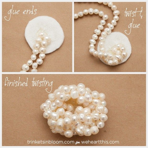As any fashionista will tell you, it's all about the details. This DIY jewelry project, a Twisted Pearl Brooch will add simple yet elegant style to anything