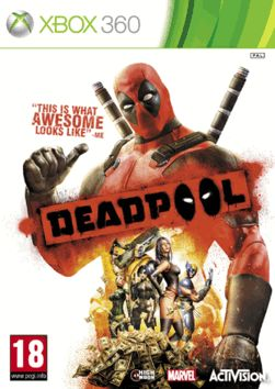 Deadpool GAME Exclusive Edition Xbox 360 Cover Art