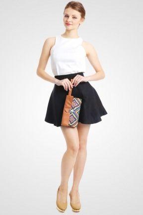 FOLDED CLUTCH BROWN TRIBAL PINK - http://www.slightshop.com/kategori-produk/tas/toko-online-fashion-wanita-jual-beli-clutch-kerja-pesta-formal-casual/