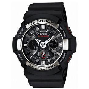 Casio G-Shock GA-200-1AER zwart horloge (Altijd de goedkoopste)
