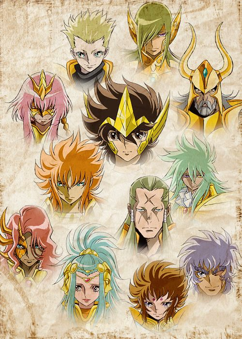 Gold Saints, Saint Seiya Omega