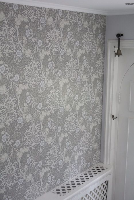 William Morris wallpaper Seaweed
