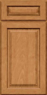 Kraft Maid Kitchen Cabinets Maple Wood W/ Ginger Stain, Sable Glaze. Lowes