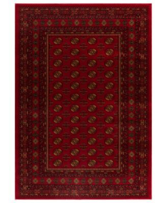 Kenneth Mink Area Rug Warwick Boukara Crimson 710 X 1010 SaleLiving Room