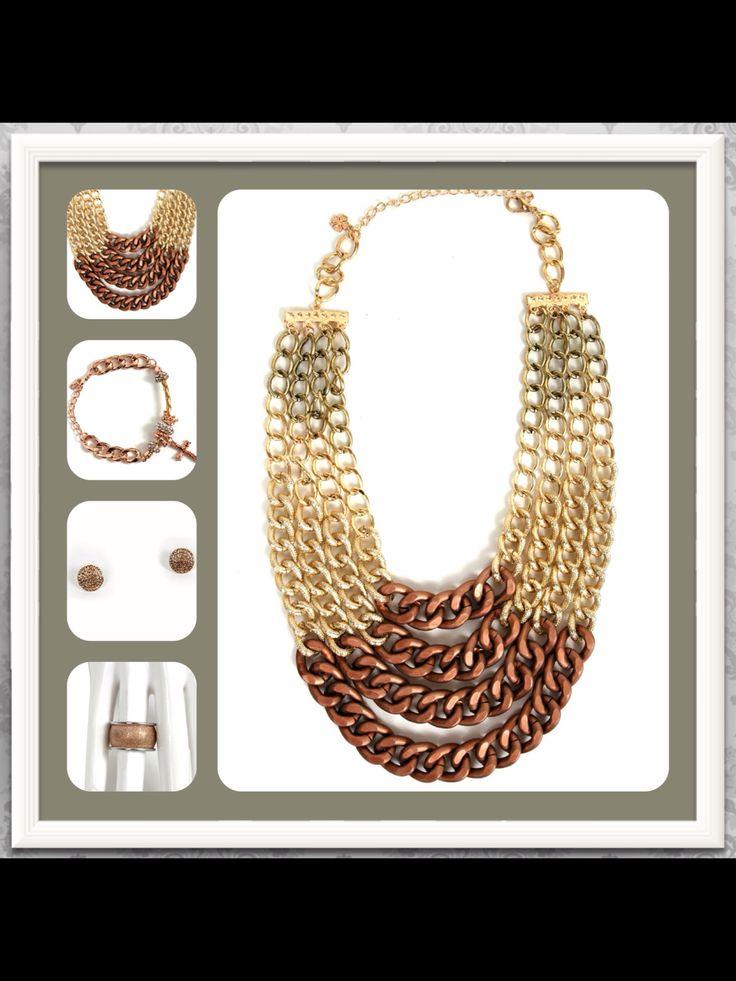 Fashion necklaces ! #Doca #fashion #accessories #trendy #neclaces #fw1314