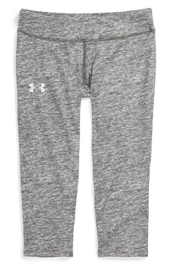 Under Armour 'Sonic' HeatGear® Capris (Big Girls) available at #Nordstrom