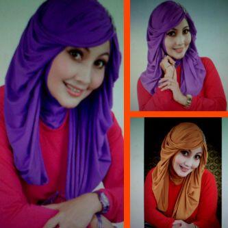Wig Hijab Yang Menyerupai Rambut