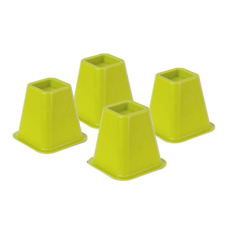 Honey Can Do bed risers - set of 4