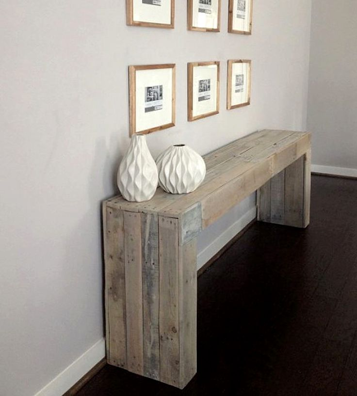 Reclaimed Wood Console Table | Home Furniture | Raka Mod | Scoutmob Shoppe | Product Detail