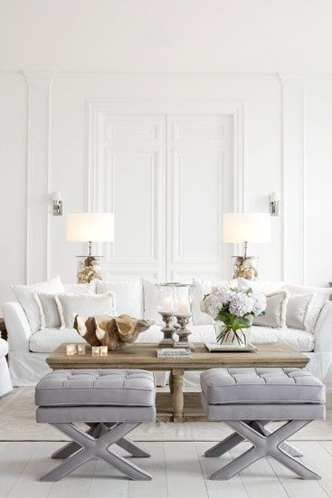 25 best white living rooms ideas on pinterest neutral - Panelados para paredes ...
