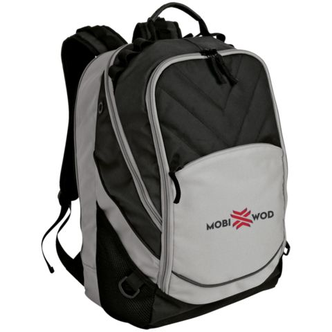 Embroidered Laptop Computer Backpack