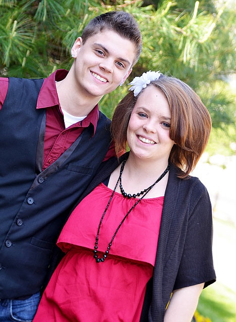 Tyler Baltierra and Catelynn Lowell from Teen Mom.  Addicted to this show, I love this couple