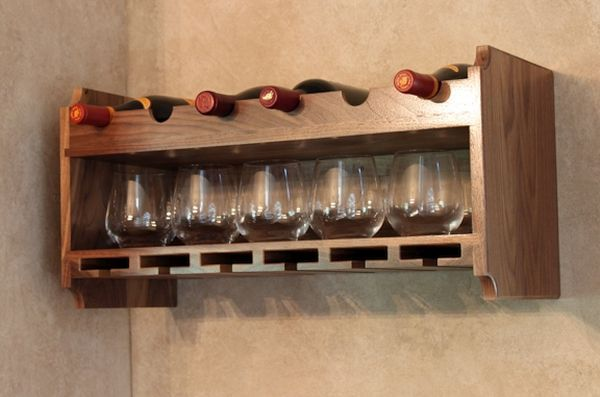 7 Creative ways to make wine glass racks a part of your home d�cor  Hometone