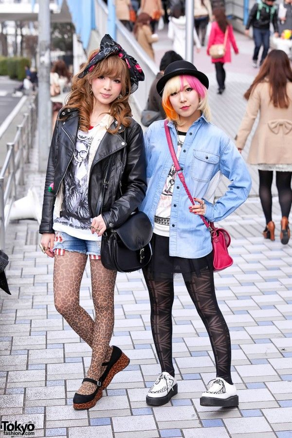 Trying to get fearless with your look? Do yourself a favor and just... google tokyo street fashion. Then talk to me.