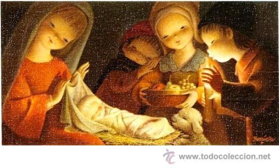 Felicitación navidad FERRANDIZ (1969)