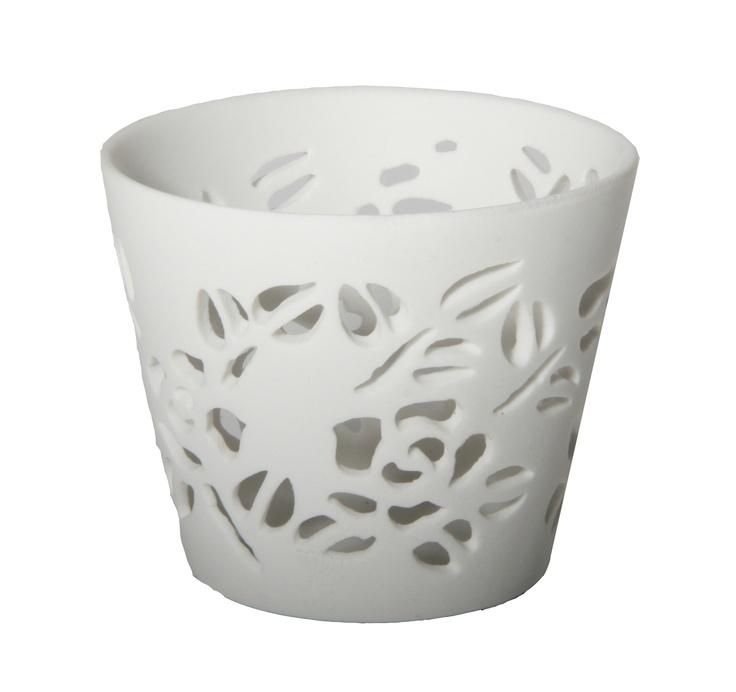 Telysholder Siren i porselen
