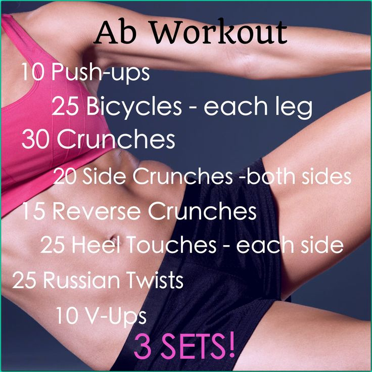 Awesome Ab Workout!! Great routine and when you do them right you feel your core working hard! Must do.