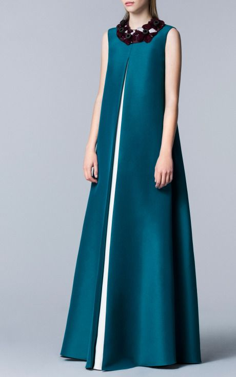 Roksanda Ilincic Pre-Fall 2014 Trunkshow Look 22 on Moda Operandi // Just add sleeves.