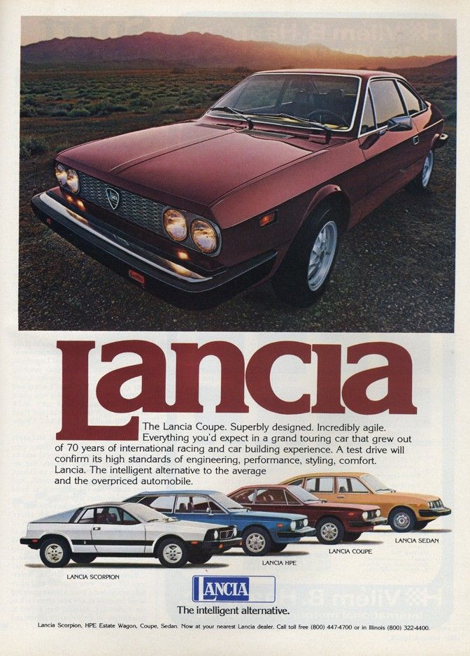 11 best Lancia Sports Car Ads images on Pinterest | Classic trucks ...